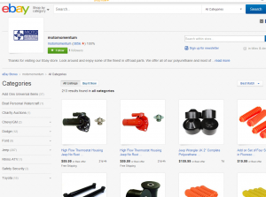 Assisted Selling Site Testing Ebay Account