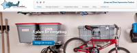 This is a great example of a geographic specific website. This site is a niche site for garage organization products for a specific area in the State of Utah. This is a great example for an online business that you want to run out of a local area.
