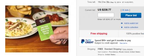 ebay OG pasta pass article image for Online Business Reef