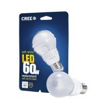 "Cree 9.5-Watt (60W) ""2-pack"" Soft/Warm White (2700K) LED Light Bulb"