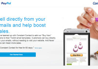 Constant Contact and Paypal Team Up for More Sales