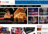 ProfitMag a Change to A Responsive Theme for Mobile Use